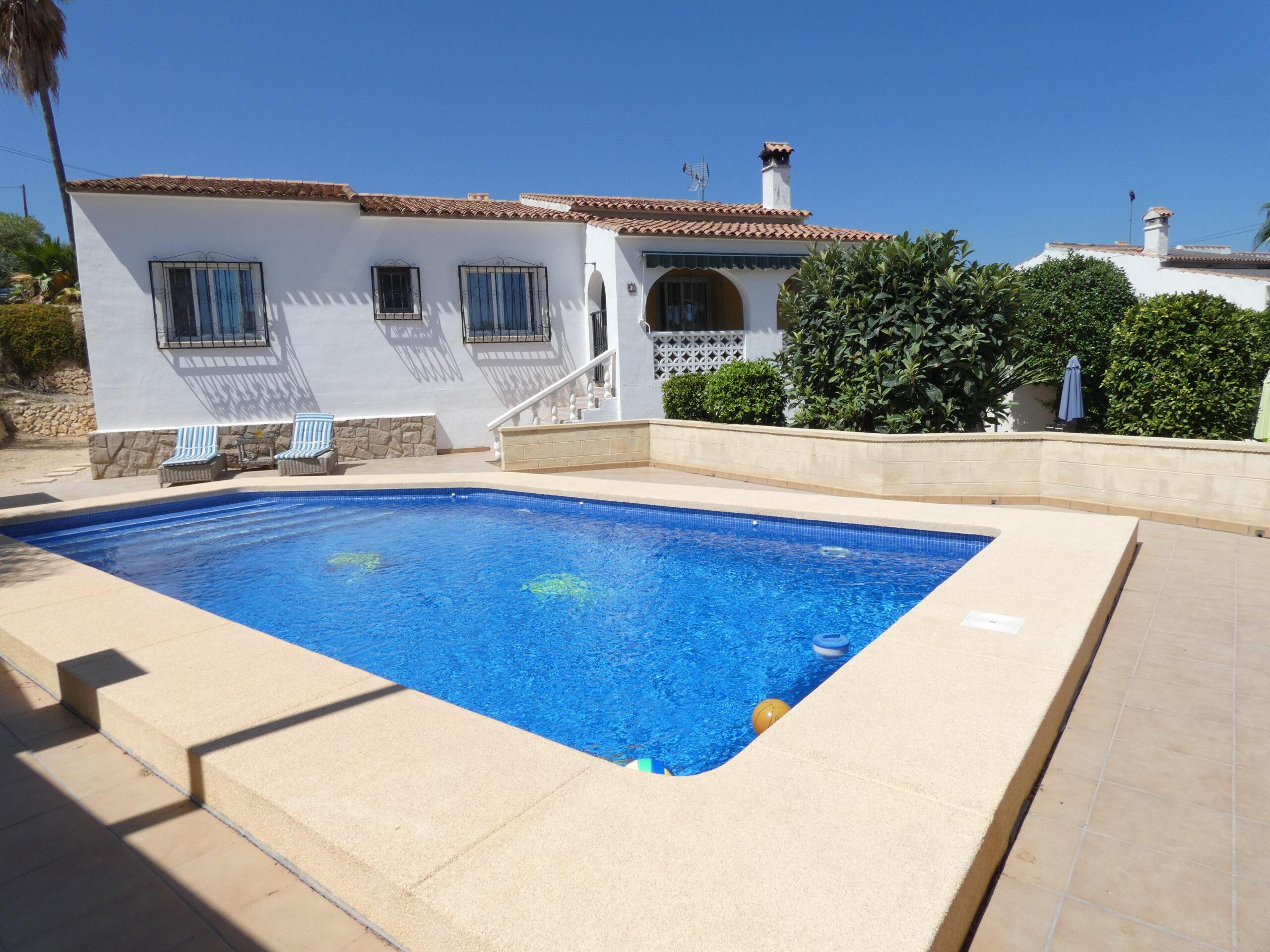 Villa med 4 soverom i Alfaz med 2 bad og garasje